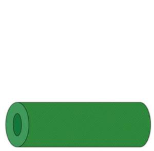 25209 - Camino de Mesa de papel 0,4x48 AirCel Verde