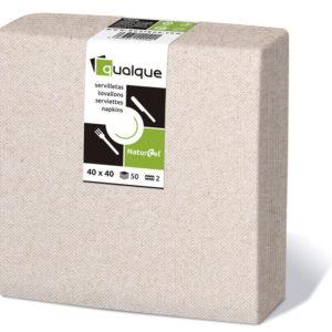 1420N - Servilletas de papel 40x40 MicroCel NaturCel