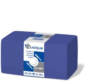 14605 - Servilletas de papel 20x20 MicroCel Azul