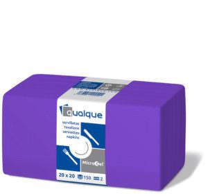 14613 - Servilletas de papel 20x20 MicroCel Lila